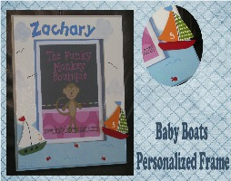 Baby Boats Frame