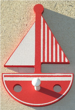 Baby Boats Coat Hanger