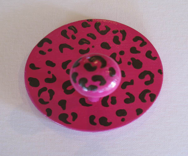 Cheetah Pink Animal Print Coat Hanger