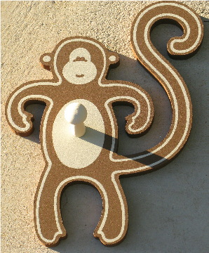 Jungle Monkey Coat Hanger