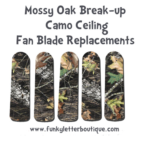 Mossy Oak Break-up Camo Ceiling Fan Blades
