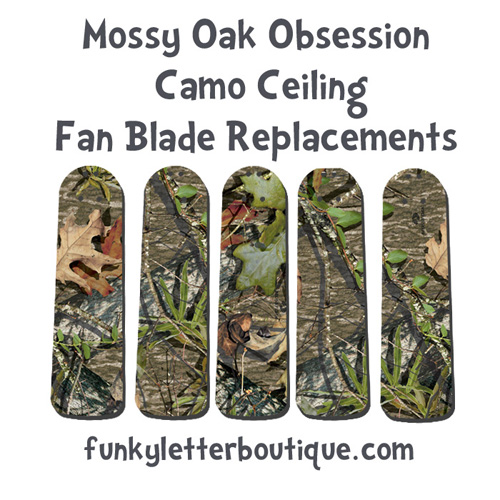 Mossy Oak Obsession Ceiling Fan Blades