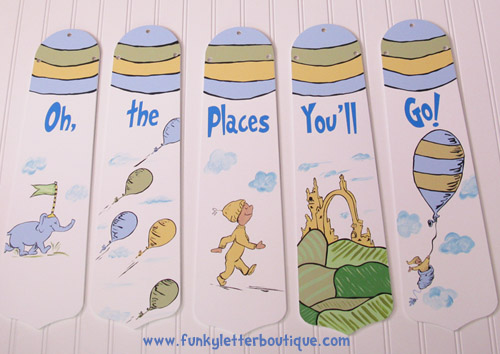 Dr Seuss Oh The Places You Ll Go Nursery Decor Ceiling