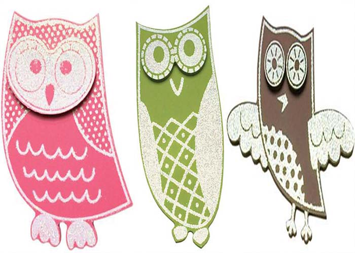Owl Sparkle Shapes