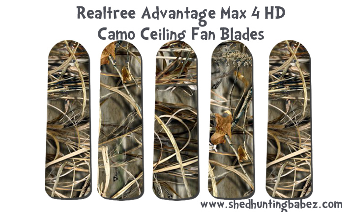 Max 5 HD Realtree Advantage Camo Ceiling Fan Blades