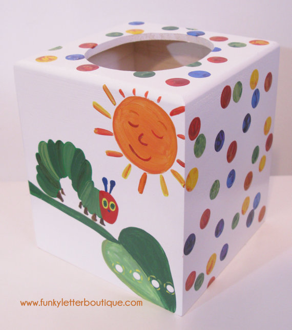 The Very Hungry Caterpillar Tissue Box