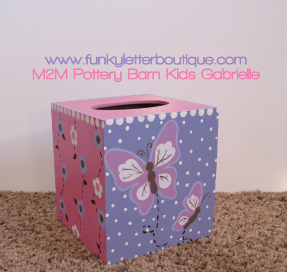Gabrielle Butterfly Tissue Box Cover