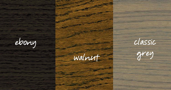 wood stain color choices
